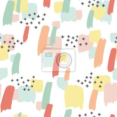 Motif transparent avec éclaboussures de couleur