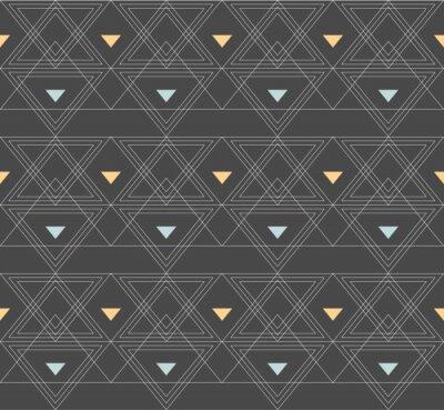 Motif transparent avec ornement minimaliste abstrait