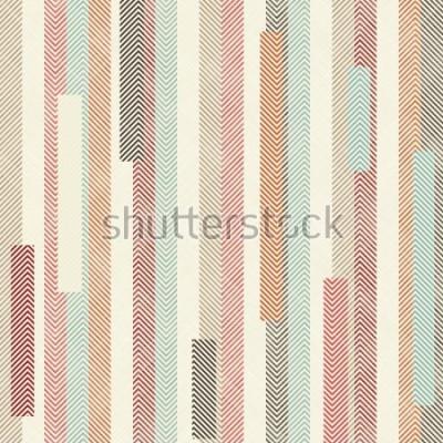 Papiers peints Motif transparent rayé coloré abstrait. Le motif sans fin peut être utilisé pour les carreaux de céramique, le papier peint, le linoléum, le textile, le fond de page Web.