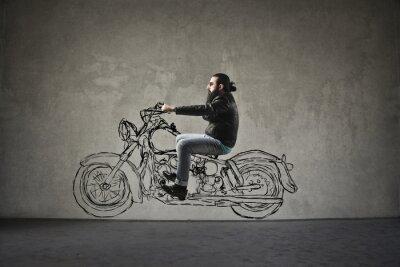Papiers peints Moto