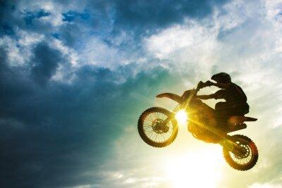 Papiers peints Motocross Bike Jump