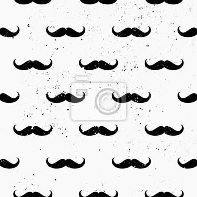 Moustaches Motif continu