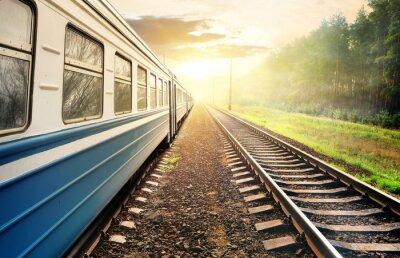 Papiers peints Moving train