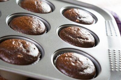 Muffins à la forme de bicarbonate