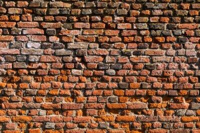 Papiers peints Mur de briques comme texture ou background
