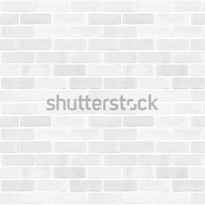 Papiers peints Mur de briques sans couture mur couleur gris blanc motif texture