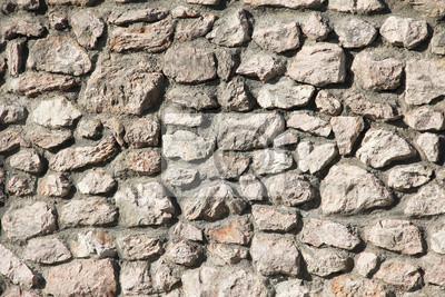 Mur En Pierre Naturelle Papier Peint Papiers Peints Fixation Mur