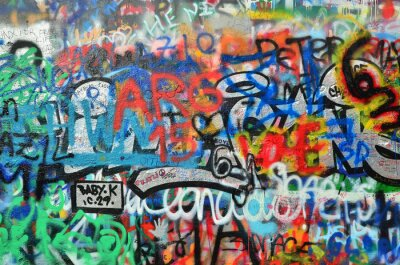 Papiers peints Mur, pulvérisé, graffiti