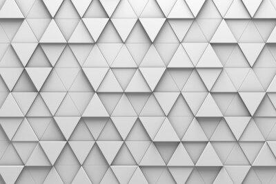 Papiers peints Mur triangulaire en mosaïque en mosaïque triangulaire