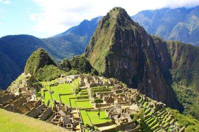 Papiers peints Mysterious ville de Machu Picchu, au Pérou.