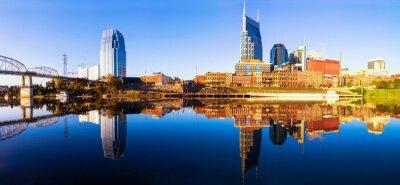 Papiers peints Nashvillle Skyline, Tennessee, États-Unis