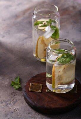 natural ice pear lemonade ice tea