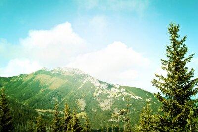 Papiers peints Nature dans les montagnes.