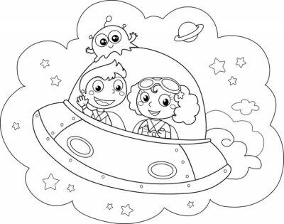 Papiers peints Navette spatiale de Nice piloté par les enfants