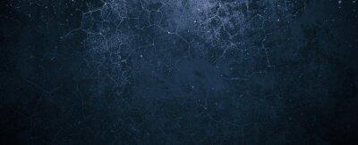 Papiers peints Navy Blue Cement Background. Old Dark blue background. Blue wall texture