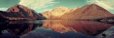 Papiers peints Neige, montagne, Lac
