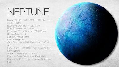 Papiers peints Neptune - Haute résolution Infographie présente l'une des sources solaires