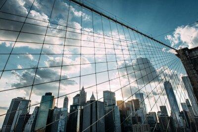 Papiers peints New York, Brooklyn Bridge,