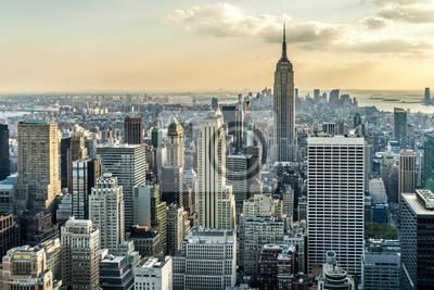 Papiers peints New York City Vue aérienne