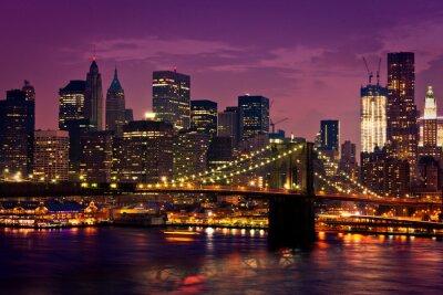 Papiers peints New-York Pont de Brooklyn
