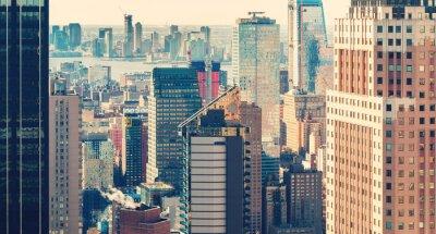 Papiers peints New York, ville, Horizon, Coucher soleil