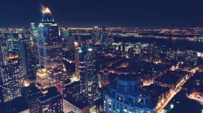 Papiers peints New York, ville, Horizon, nuit