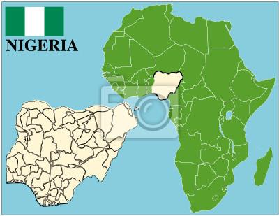 Carte Afrique Nigeria.Papiers Peints Nigeria Embleme Carte Du Monde Afrique Du Succes De Lentreprise