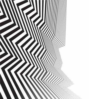 Papiers peints Noir, blanc, mobious, vague, bande, optique, résumé, conception