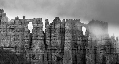Papiers peints Noir et Blanc de Bryce Canyon