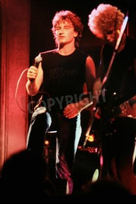 Papiers peints Norwich, Angleterre, 1er octobre 1981 - Concert U2 à l'UEA