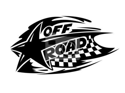 Off Road sport automobile icône d'événement