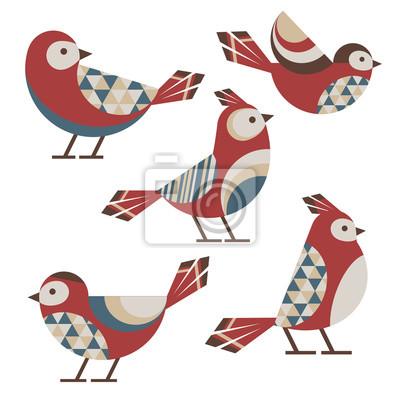 Oiseaux géométriques