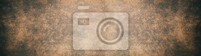 Papiers peints Old brown rustic leather texture - Panorama background long