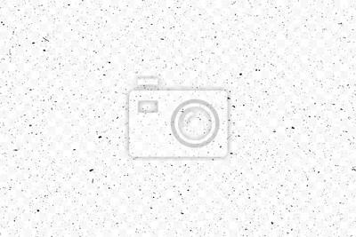 Papiers peints Old grunge black texture. Dark weathered overlay pattern sample on transparent background. Screen background. Vector.