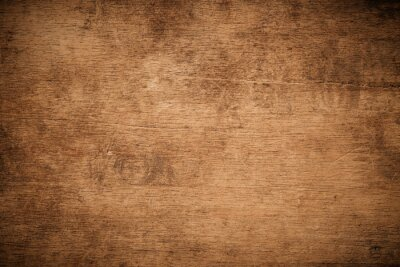 Papiers peints Old grunge dark textured wooden background , The surface of the old brown wood texture , top view teak wood paneling.