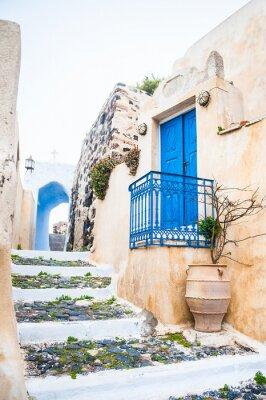 Papiers peints Old street in Pyrgos village