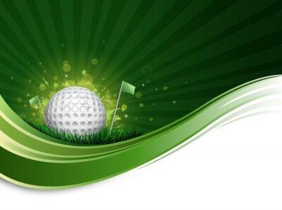 Papiers peints onde de balle de golf