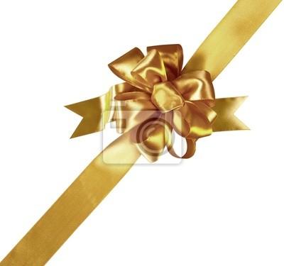 Or Gift Bow (chemin de détourage) (XXL)