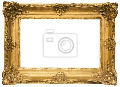 Papiers peints or plaqué en bois cadre photo w / chemin (large)