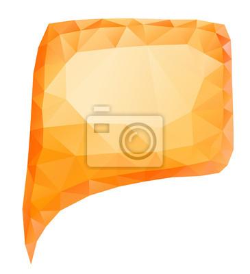 Orange bulle