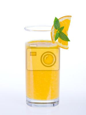 Orange sain smoothies