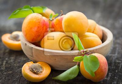 Organique fraîche d'abricots