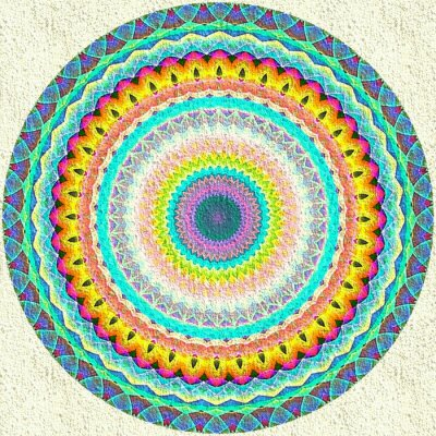 Papiers peints Ornement de mandala