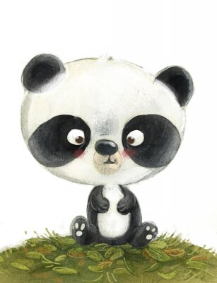 Papiers peints oso panda pequeño
