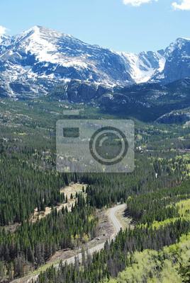 Papiers peints Ours route du lac, Rocky Mountain National Park, CO, États-Unis