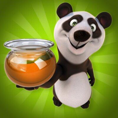 Papiers peints panda Fun
