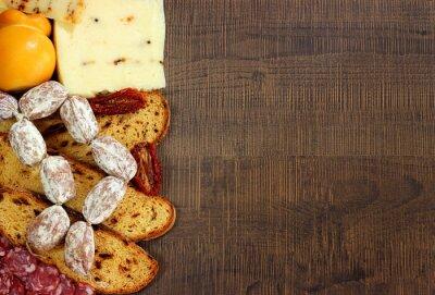 Papiers peints Pane, salumi e formaggi