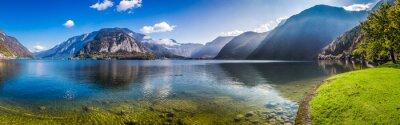 Papiers peints Panorama, clair, clair, montagne, Lac, alpes