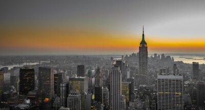 Papiers peints panorama de Manhattan, New York