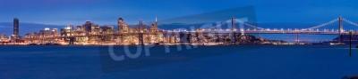 Papiers peints Panorama de San Francisco la nuit